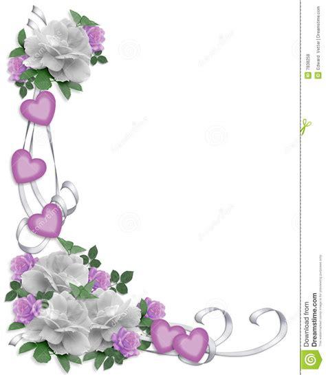Wedding Invitations Borders High Resolution by Wedding Invitation Border White Roses Royalty Free Stock
