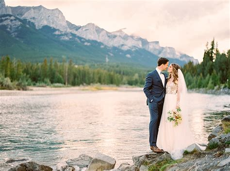 Wedding Ceremony Blue Mountains by Magical Mountain Elopement In The Rockies Real Weddings