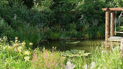Formal and Natural Garden Pond Designs   Landscape Garden