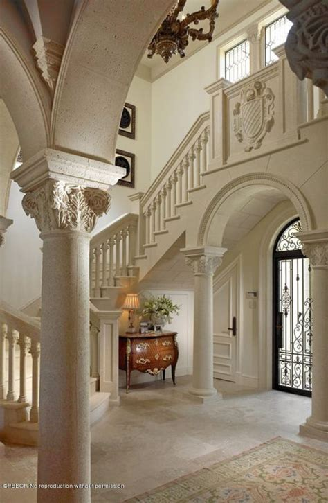 Mr And Mrs Smith House Floor Plan by Traditional Entryway With Arched Window Amp Columns Zillow