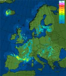 Europe Weather Map by In Europe Radar And Lightning Detection Rmi