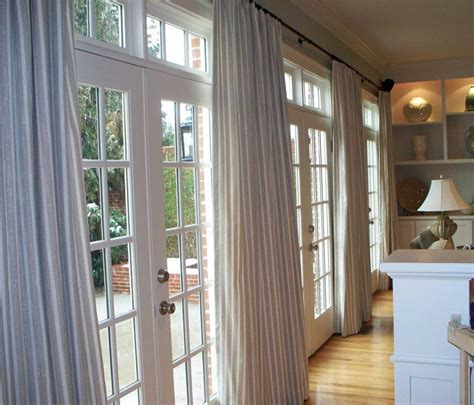 large door curtains french doors with curtains large home decoration ideas