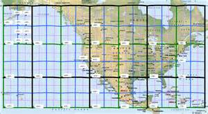 grid map electronic for america affected by coronal