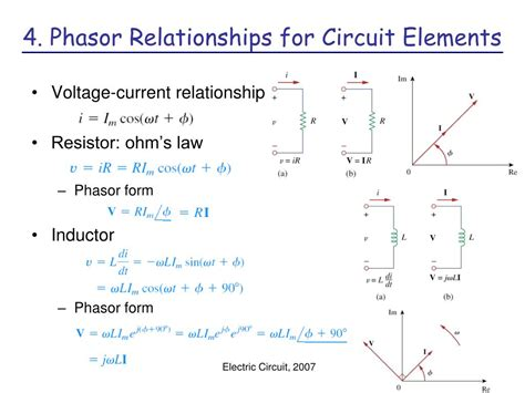 inductor in phasor domain ppt ch 9 sinusoids and phasors powerpoint presentation id 190603