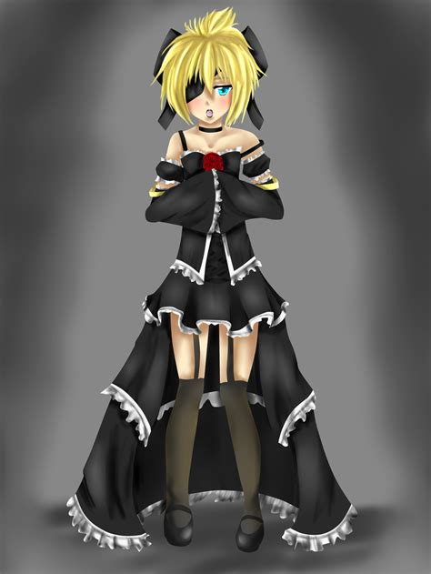 Len Re by Imitation Black Len Re Drawing Digital Coloured By Kaniii