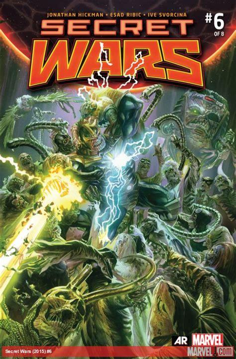 secret wars secret wars round up issues released 10 7 15 retcon punch