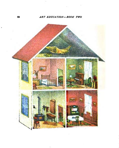 design doll house online design interior vintage printable at swivelchair media