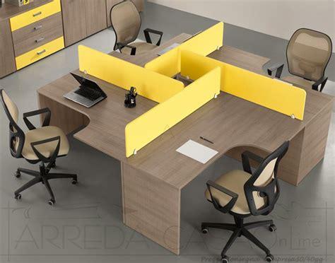 scrivanie per ufficio prezzi scrivanie con divisori per ufficio componibili