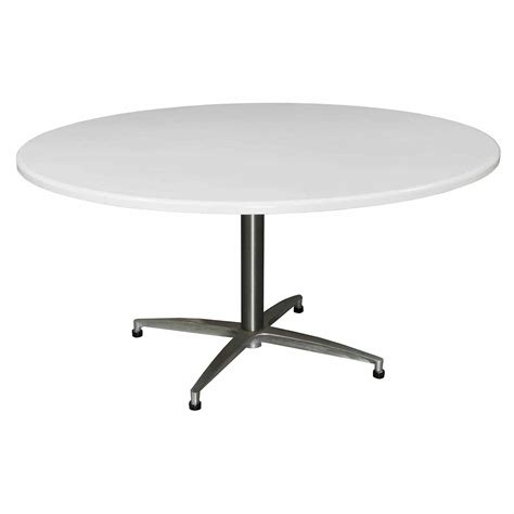 wci iv used 60 inch conference table white