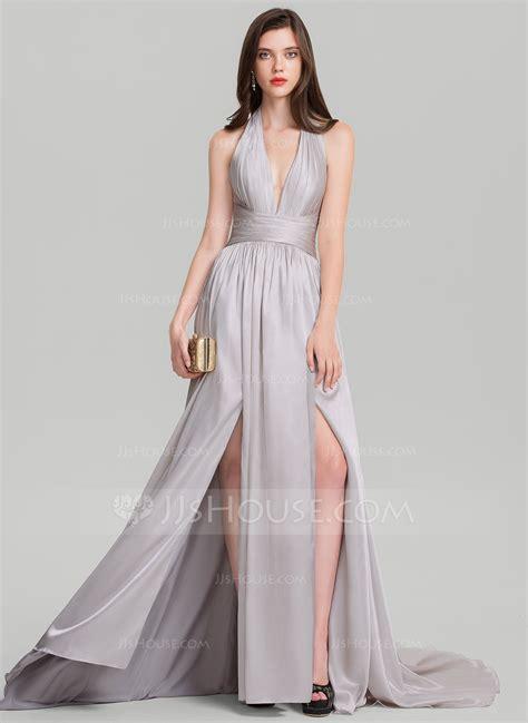 a line princess prom dresses a line princess halter court train prom dresses with
