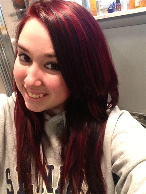 blood hair color hair color idea crimson and blood hair colors