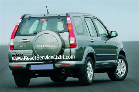 how to reset change light honda accord service reset honda cr v reset service autos post
