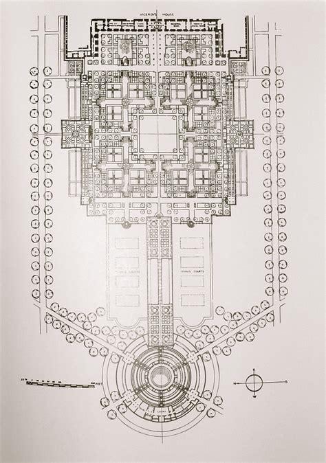 plan designs lutyens mughal gardens a landscape lover s blog