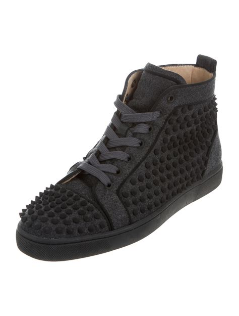 Christian Louboutin Spike Sneakers by Christian Louboutin Louis Flat Spike Sneakers Shoes Cht65314 The Realreal