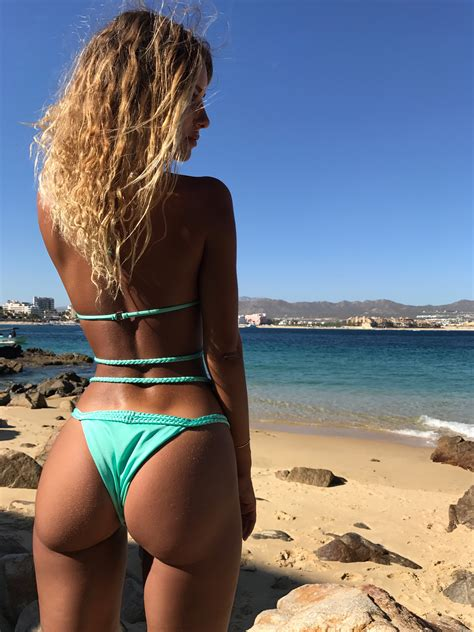 ava bikini plumeria swimwear