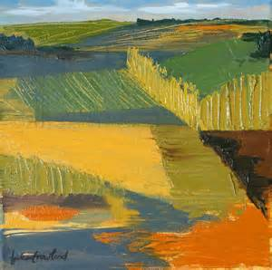 abstract landscape paintings items similar to expressionist landscape painting crop