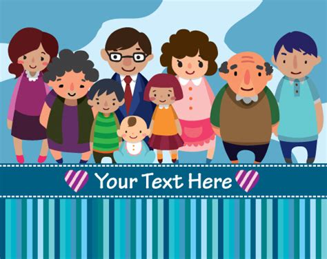 powerpoint themes free download family family member design elements vector 03 over millions