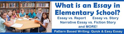 pattern based writing quick easy essay what is an essay in elementary school teaching writing