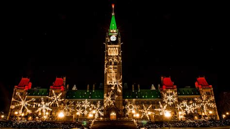 christmas lights across canada ottawa tourism youtube