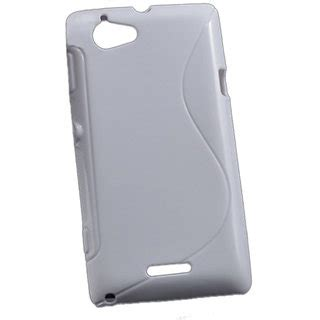 Silikon Xperia C S39h by Kelpuj Soft Silicon Back Cover Pouch For Sony Xperia