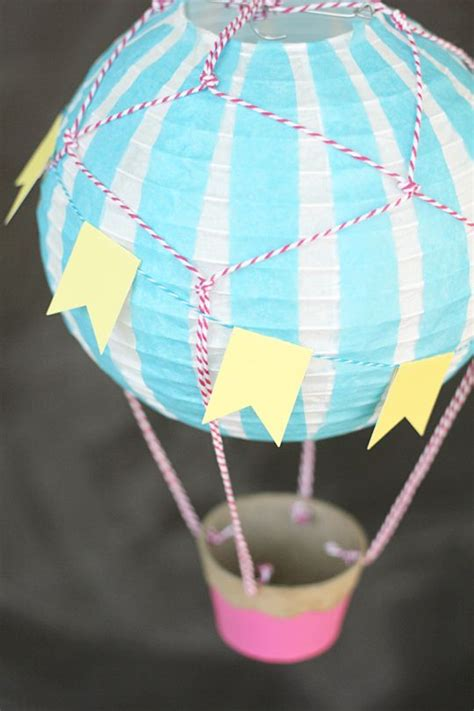 How To Make Paper Balloon Lanterns - how to make a air balloon vintage style paper