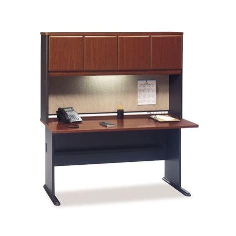 60 desk with hutch bush bbf series a 60 wood credenza desk with hutch in
