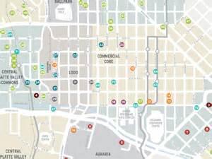 new downtown denver development map denverinfill