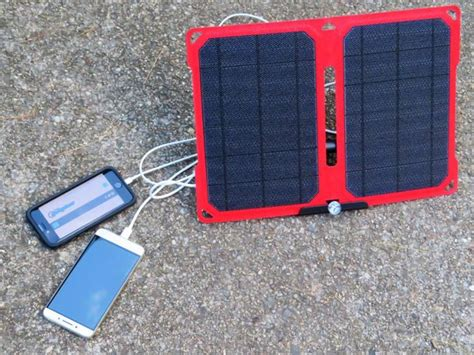 suaoki 14w solar panel suaoki 14w portable solar charge panel review the gadgeteer