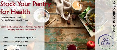Stock Your Pantry by Stock Your Pantry For Health Kaitaia Eventfinda