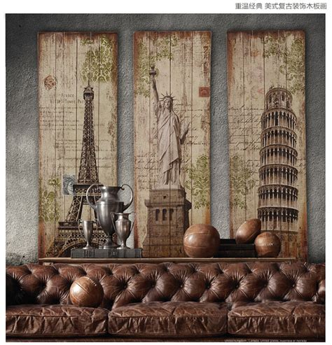 woods vintage home interiors 120cm top cool decor vintage wooden wall wood painting drawing 3 home office bar retro
