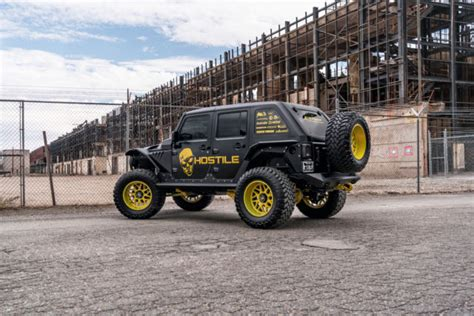 armored jeep wrangler unlimited 1c4bjwdg9gl344368 2016 custom lifted jeep wrangler