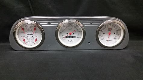 1960 1961 1962 1963 ford falcon 3 cluster metric
