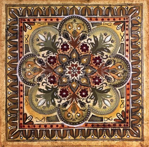 Italian Tiles Italian Tile Iii Print At Mastersofphotography