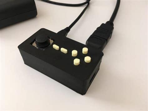 micro console raspberry pi zero micro console 3dthursday