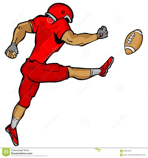 football player clip football kicker clipart 101 clip