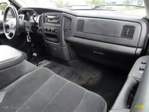 2002 Dodge Ram 1500 Interior Slate Gray Interior 2002 Dodge Ram 1500 Slt Cab