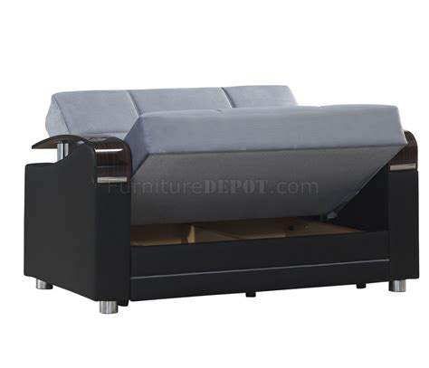 Sofa Bed Oscar oscar sofa bed in gray fabric by casamode w options