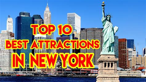 New City Top top 10 best attractions in new york