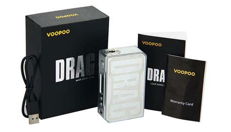Mod Vapor Vape Voopoo Drag 157w Box Mod Resin Version Green T35 voopoo drag 157w tc box mod 187 vapertown