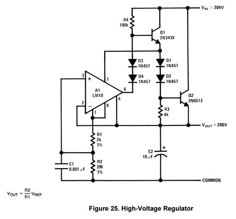 op buffer with resistor op voltage follower regulator xlgps