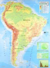 physical features map of south america search results for blank map of south america calendar