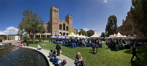 my housing ucla view of royce hall on bruin day