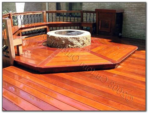 can you put pit on wood deck pit on wood deck decks home decorating ideas
