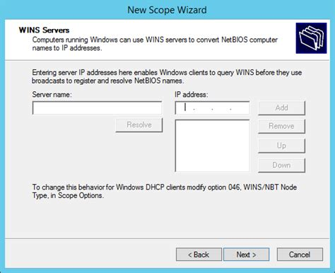 Configure L Server by Configure A Multiscope Dhcp Server To Work With Vlans