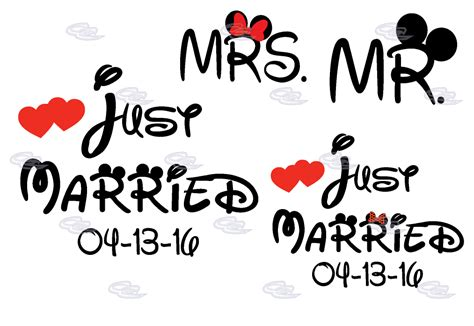 Wedding Just Married by Disney Wedding Just Married Mr 100 Images Just Married