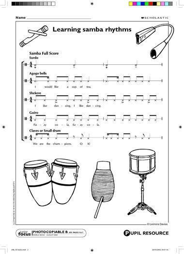drum pattern worksheets 17 best images about music class resources on pinterest