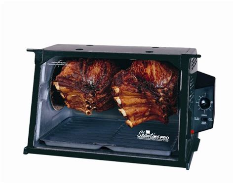 ronco rotisserie ronco showtime professional rotisserie and bbq oven yugster