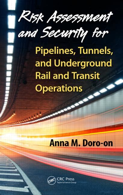 risk assessment and security for pipelines tunnels and