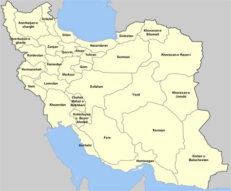 map of iran provinces test your geography knowledge iran provinces lizard point