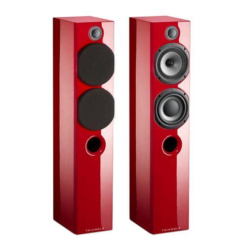 color speakers triangle color floor floorstanding speaker